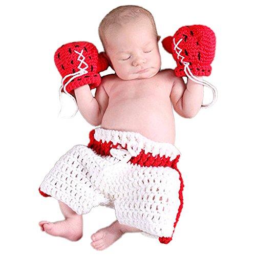 Säugling Neugeborenes Baby Jungen Mädchen Kostüm Cartoon Foto Requisiten 0-6 Monate (Boxen)