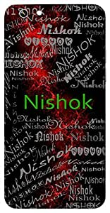 Nishok (One Without Sorrow, Happy) Name & Sign Printed All over customize & Personalized!! Protective back cover for your Smart Phone : Lenovo K4 Note / A7010