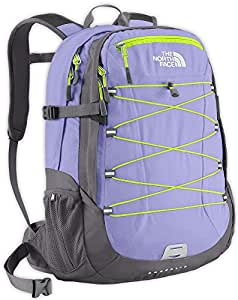 The North Face Women's Borealis Backpack - Lavendula Purple/Safety Green, One Size