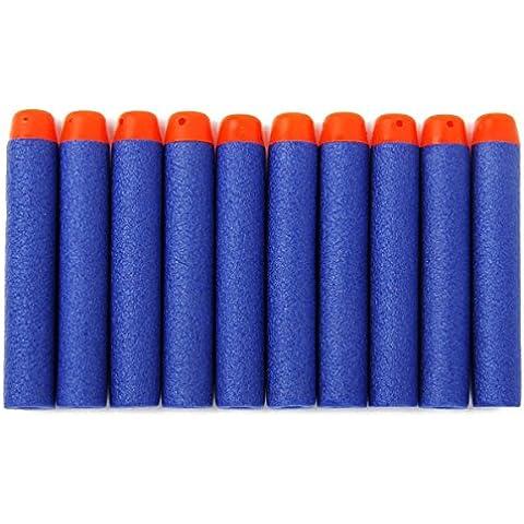 BESTOYARD 200pcs Schiuma Freccette Refill Proiettili per