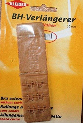 Kleiber 35 mm Rallonge soutien-gorge double crochet, Beige/écru