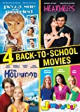 4 Back to School Movies Collection (Jawbreaker / Hollywood Knights / Peggy Sue Got Married / Heathers) by Christian Slater