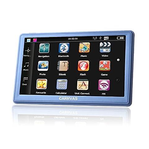 CARRVAS 7.0 Inch LCD Touch Screen Navi / Auto Navigationsgerät
