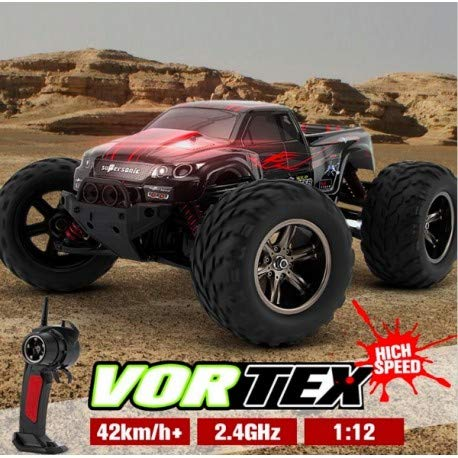 RC Auto kaufen Monstertruck Bild 5: s-idee® 18175 9115 RC Auto Buggy wasserdichter Monstertruck 1:12 mit 2,4 GHz über 40 km/h schnell, wendig, voll proportional 2WD ferngesteuertes Buggy Racing Auto*