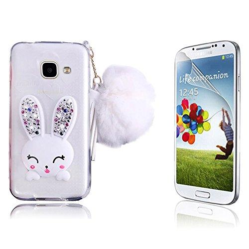 Samsung Galaxy A310 Cover,Bonice Samsung Galaxy A3 2016 Custodia, Crystal