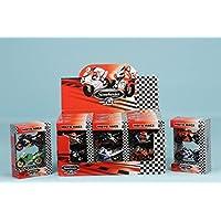Globo Toys Globo - 34511 Spidko Die Cast Racing Motorbike (2-Piece)
