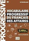 Telecharger Livres Vocabulaire progressif du francais des affaires Niveau intermediaire Livre CD 2eme edition Nouvelle couverture (PDF,EPUB,MOBI) gratuits en Francaise