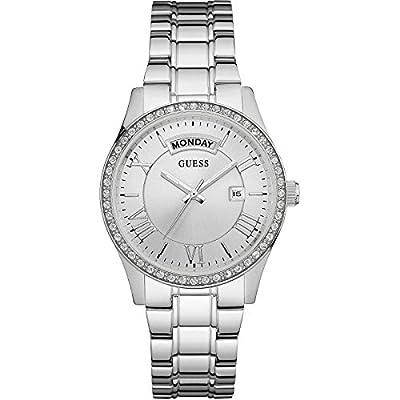 Guess W0764L1 - Reloj de lujo para mujer, color plateado de Guess