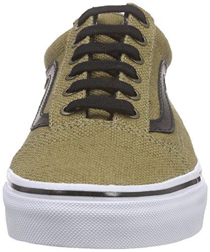 Vans Old Skool, Sneakers Basses mixte adulte Marron (Jute/Walnut/Black)