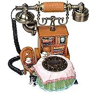Emma home Teléfono retro Máquina de coser telefónica retro Modelado de la habitación del dormitorio fijo