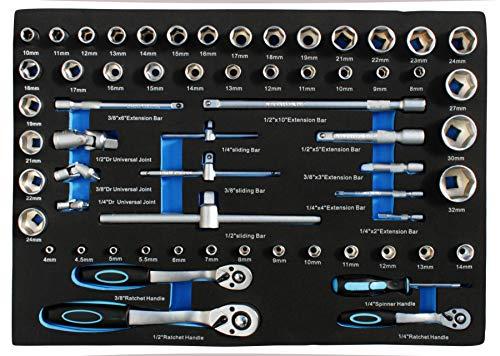 DeTec. Werkstattwagen blue Edition inkl. Werkzeug - 6