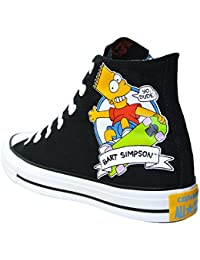 Converse All Star Sneaker Chucks UE 42 Bart Homer Simpsons Black Limited editio