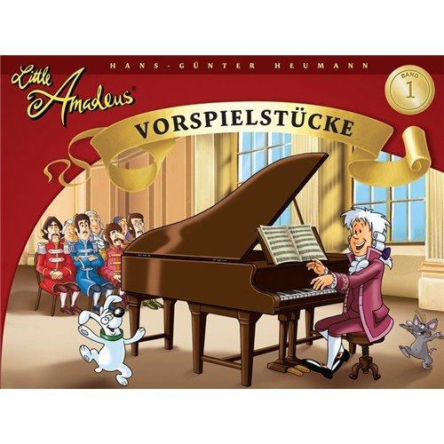 Hans-Gunter Heumann: Little Amadeus - Vorspielstücke (Band 1). Partituras para Piano