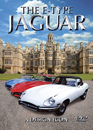 The E Type Jaguar: A Design Icon [DVD] Documentary Transport NEW-KOSTENLOSE LIEFERUNG