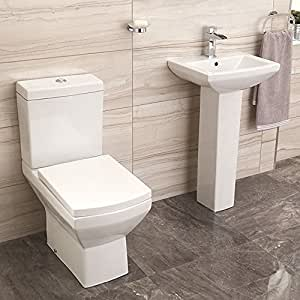 tabor 56 set standtoilette wc mit waschtisch baumarkt. Black Bedroom Furniture Sets. Home Design Ideas
