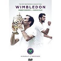 Wimbledon: 2017 Men's Singles Final Roger Federer vs Marin Cilic