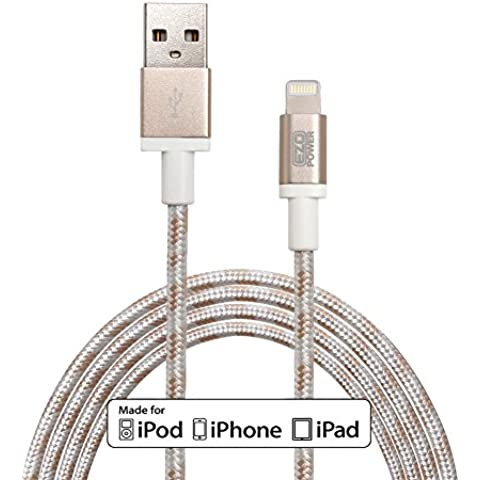 (MFI CERTIFICATO APPLE) EZOPower 8-Pin Lightning USB sincronizzare & di