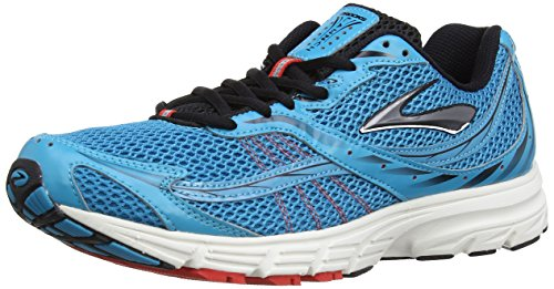 Caribbean Apparel (Brooks Launch Men Herren Laufschuhe, Caribbean Sea/Black/Silver, 44.5 EU / 9.5 UK)