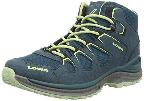 Lowa Damen Innox Evo GTX QC Trekking-& Wanderhalbschuhe, Blau (Petrol/Mint), 38 EU (Schnee Mint)