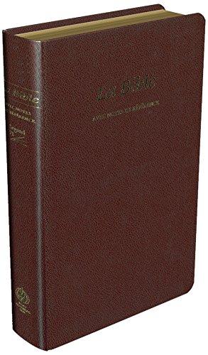 Bible Segond 21 Reference : Fibrocuir Souple Grenat, Tranches par Segond 21