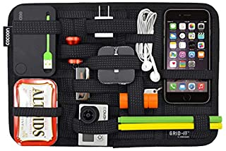 Cocoon Innovation GRID-IT - Organizer Case / Elastic Strings / Electronics Accessories | Organizer with Ziper and Passant - Black - 30,5 x 1 x 20,3cm (B002HU27UW) | Amazon price tracker / tracking, Amazon price history charts, Amazon price watches, Amazon price drop alerts