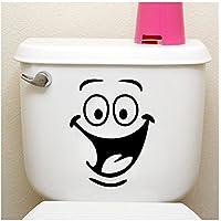 IHRKleid Stickers mural pour salle de bain wc décor Sticker mural (noir)
