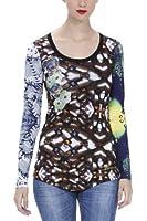 Desigual Eloisse - T-Shirt - Soie - Femme