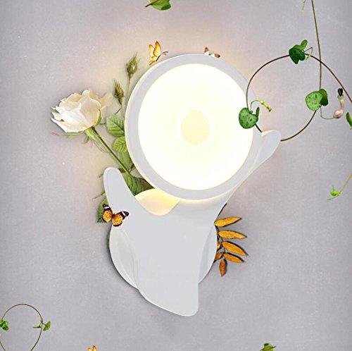 DENG OOFAY Light® Appliques personnalité Acrylique LED Fixation Abat-Jour Intérieur Éclairage Chevet Chambre escaliers Bar
