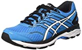 Asics Men's Gt-2000 5 Running Shoes, Multicolor (Island Blue/White/Black), 10.5 UK