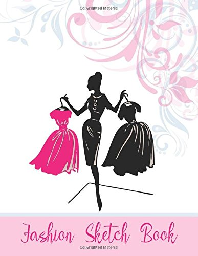 Fashion Sketch Book: (Size : 8.5