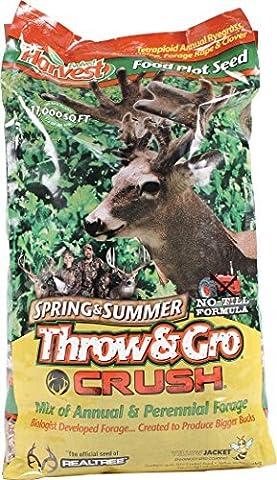 Evolved Harvest Throw & Gro Spring Crush Deer Food Plot