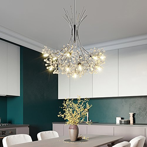 LED Kristall-Kronleuchter Schlafzimmer - 2