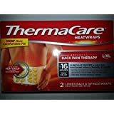 Thermacare Heatwraps Back Pain Therapy Lower Back & Hip L-xl 16 Hours -2 Count by ThermaCare