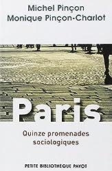 Paris. Quinze promenades sociologiques.