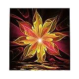 non-brand Sharplace Fantasie Blume DIY 5D Diamant Painting Handarbeit Basteln Wohnzimmer Dekor Wand Aufkleber Wanddekoration - Rot Gelb, 30 x 30 cm