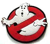 Ghostbuster Patch Applique Ghostbuster Aufnäher Bügelbilder kinder Aufbügler Flicken Embroidered Iron on Comic Patches Applikation