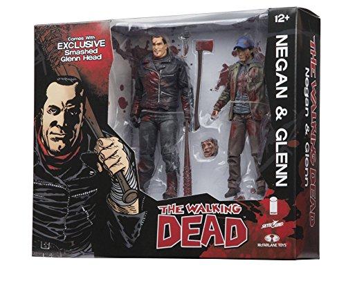 The Walking Dead Negan and Glenn Figura De Acción Set 1