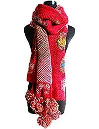 Butterme longue écharpe en tricot pour femme, chaude écharpe d hiver,  foulard à 3cf03adcee7