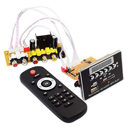 bobotron 1Set, Empf?nger 2 In 1 Audio Video Decoder Ape Flac Wav Mp3 Decodierungs Platine DTS Mp5 Hd Video Dekodierung Speicher Karten Spieler Mpeg4-decoder