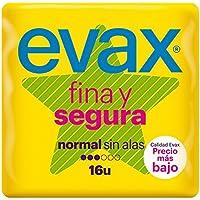 Evax Fina y Segura Normal Compresas - 16 unidades