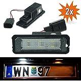 Do!LED WPX LED Kennzeichenbeleuchtung VW Golf 4 5 6, Lupo, Passat, Polo, Phaeton New Beetle ll Scirocco Amarok mit E-Prüfzeichen Nummernschildbeleuchtung Kennzeichenleuchte Nummernschildleuchte