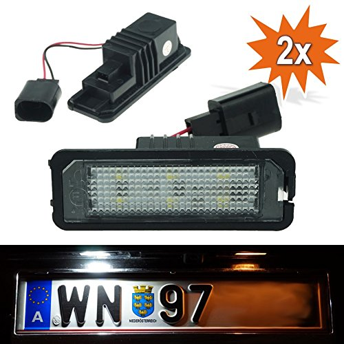 DoLED WPX LED Kennzeichenbeleuchtung mit E-Prüfzeichen (6x2835 SMD)