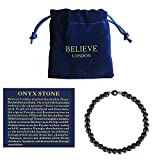 Believe London Letter Bracelet (17cm Black L)