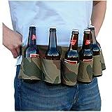 WINOMO Biergürtel Carry Getränke Bag Gürtel Bierhalter für Partys Bergsteigen Taillentaschen