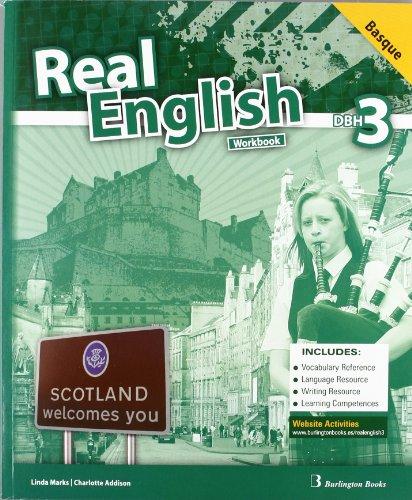 Real English. Workbook. Basque. 3º DBH