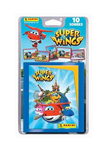 Super Wings–Blister, 10Pochettes (Panini 003357BLIE)