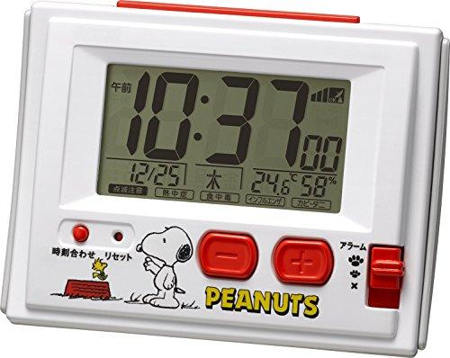 Snoopy Snoopy radio digital alarm Clock (Wecker Radio Digital Frame)
