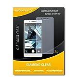 SWIDO 3 x Schutzfolie Oppo Mirror 5 Bildschirmschutz Folie DiamondClear unsichtbar