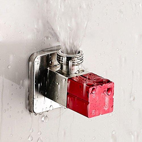 Badezimmer Messing poliert chrom Winkel Stop Ventil 1/5,1cm Stecker X 1/5,1cm Stecker Gewinde, Rohrverschraubungen Teile