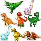 ED-Lumos Set von 8 Pack Riesen Dinosaurier Wiederverwendbare Heliumballons für Geburtstagsfeier...